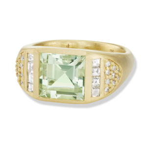 Jane-Taylor-CBR9-green-quartz-diamond-cigar-band-ring-yellow-gold