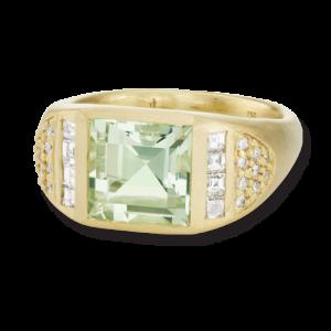 Jane-Taylor-CBR9-green-quartz-diamond-cigar-band-ring-yellow-gold